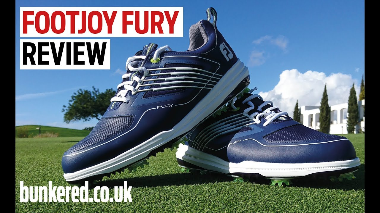 First Review Footjoy Fury Shoes Youtube