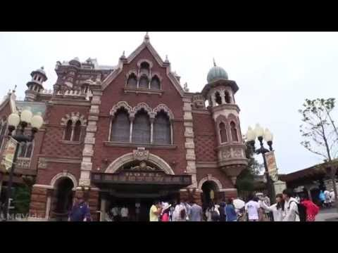 Tokyo DisneySea Tower of Terror 1080p POV Full Complete Ridethrough