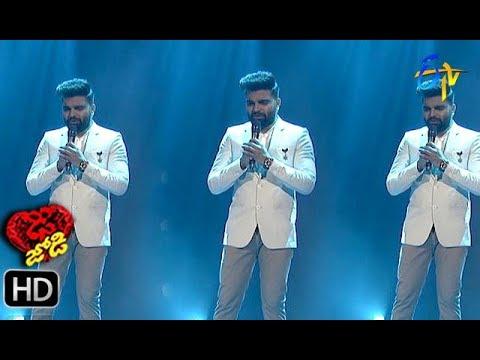 Pradeep Song Performance | Dhee Jodi | 15th May 2019    | ETV Telugu