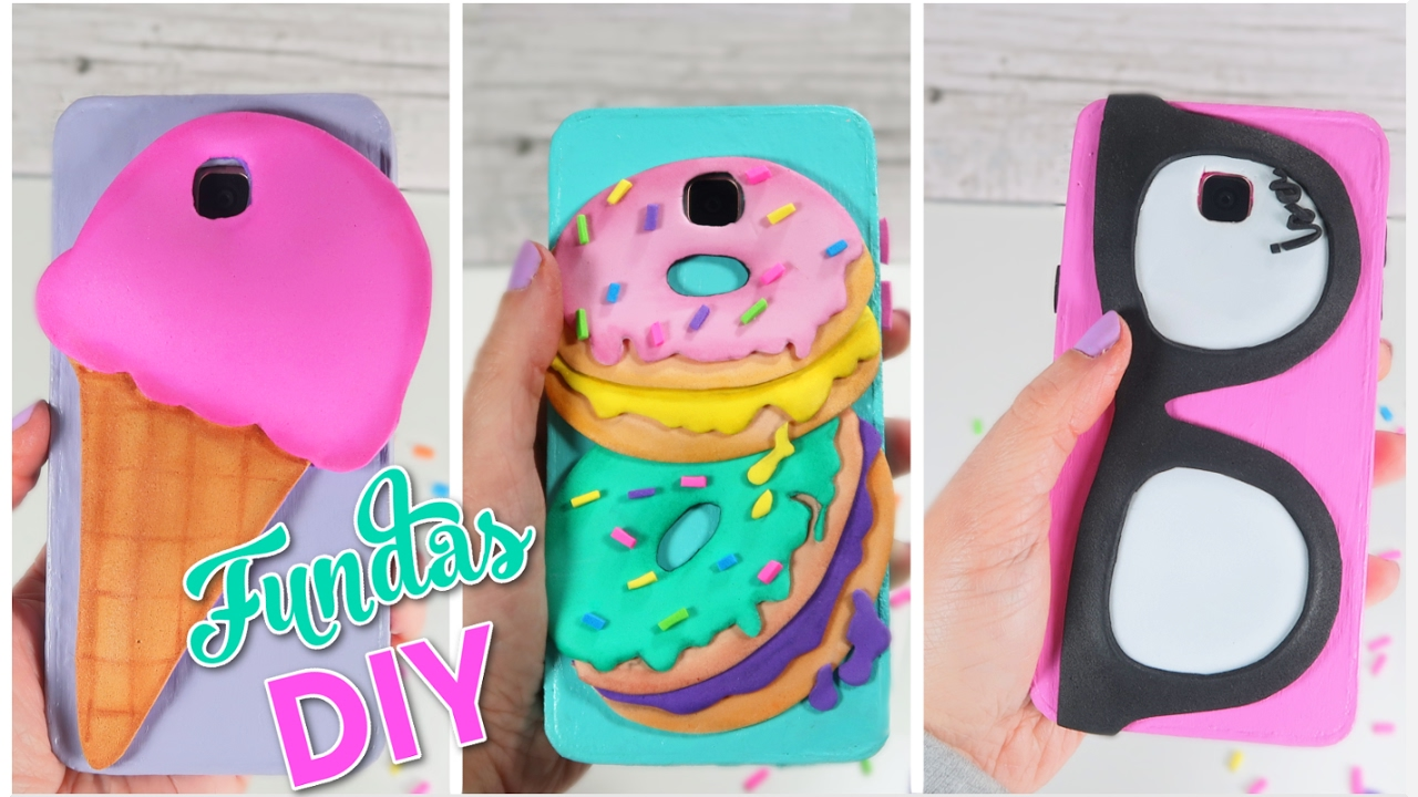 Fundas para celular caseras diy manualidades faciles y for Manualidades faciles decoracion