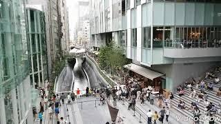 渋谷ストリーム遊歩道 渋谷ストリーム開業2018 9/13 渋谷川再生が凄いことに!
