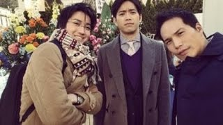 市原隼人&藤原竜也&三浦貴大が3ショット 新ドラマ『リバース』に期待...