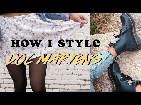 HOW I STYLE DOC MARTENS | LOOKBOOK 2019
