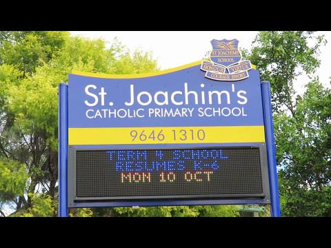 Electronic Sign - St Joachim's Catholic Primary School, Sydney