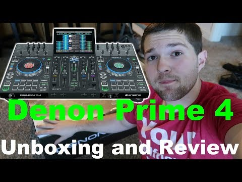 Denon Prime 4 💥 | UNBOXING And REVIEW | Standalone DJ Controller | DJ Gear