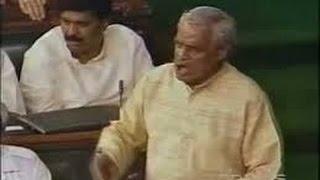Atal Bihari Vajpayee speech, a tight slap to congress, Must Watch Video