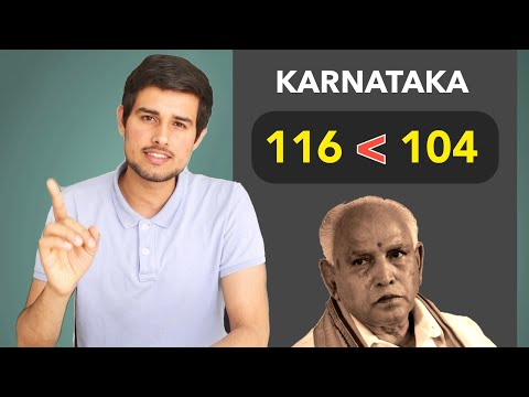 BJP vs Congress: Reality of Karnataka Results by Dhruv Rathee | Yedyurappa CM