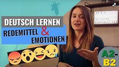 Deutsch lernen: Redemittel Emotionen (Überraschung, Freude, Trauer/Enttäuschung) A2-B2