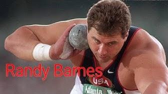 Randy Barnes - Shot Put World Record Holder