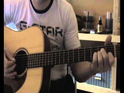 Mr Jones - Counting Crows Guitar Strumming