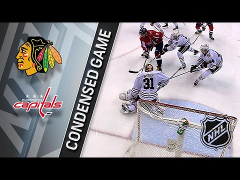 12/06/17 Condensed Game: Blackhawks @ Capitals