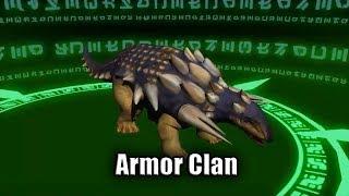 Armor Clan Dinosaur - Dinomaster