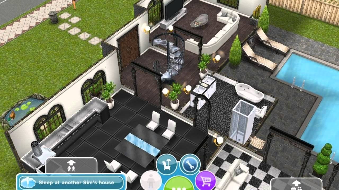 Sims Freeplay: My 3 Storey House   YouTube