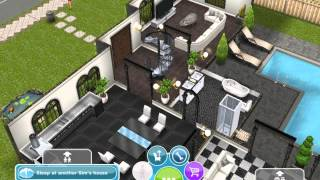 Sims Freeplay: My 3-storey House