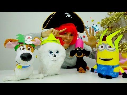 Ролик Творчество поделки на Новый год. Видео про игрушки и костюмы на новый год