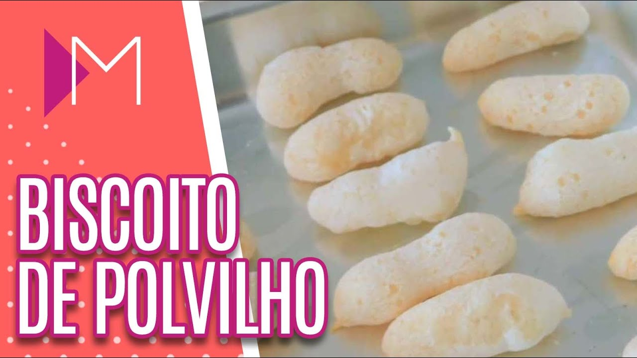 Aprenda a fazer BISCOITO DE POLVILHO caseiro - Mulheres (06/08/20)