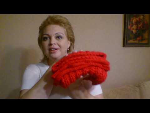 Шапки варежки шарфы вязаные спицами