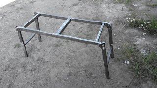 видео Лестницы металлические раздвижные: сборные и складные