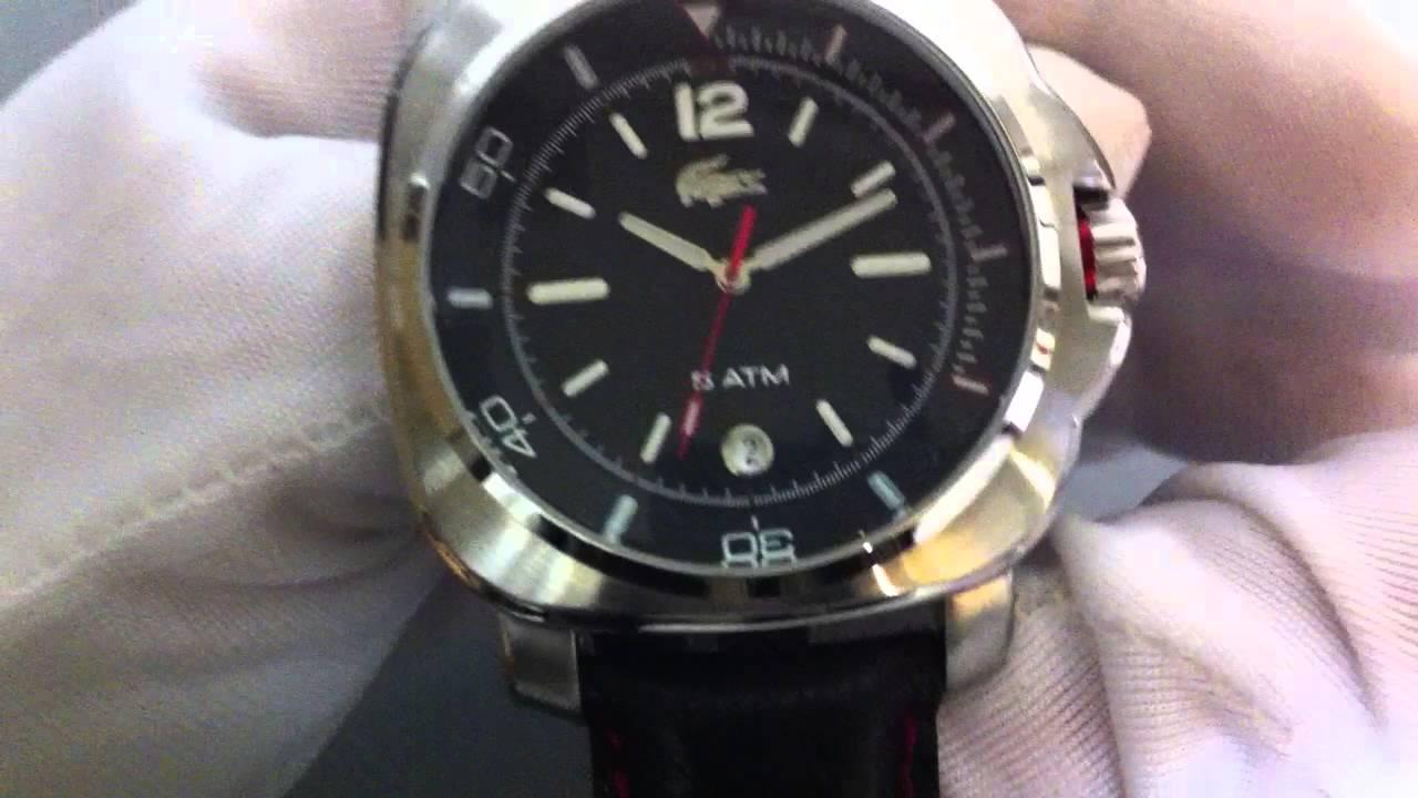 66eda6a6f9a Men s Lacoste Seaport Watch 2010420 - YouTube