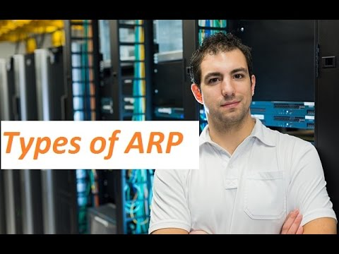 Types of ARP in Hindi - Free CCNA Training