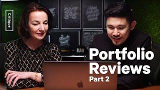 Design Portfolio Reviews – What do Employers Seek? – Part 2