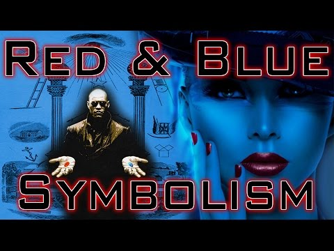 Red And Blue Pillars Luciferian Symbolism Youtube