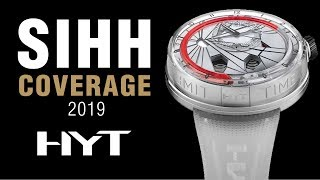 SIHH 2019: HYT Hydrofluid H4, H20, H0 Time Is Precious, and More!