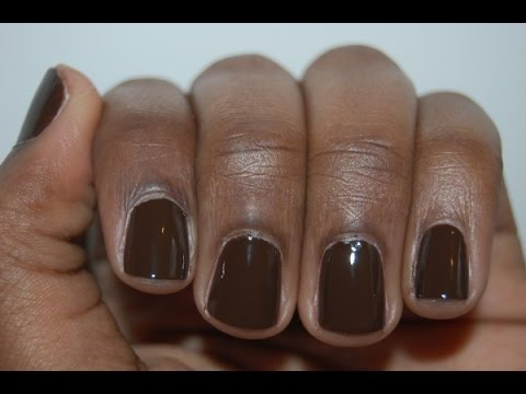 Nail Polish For Brown Skin Ideas - YouTube