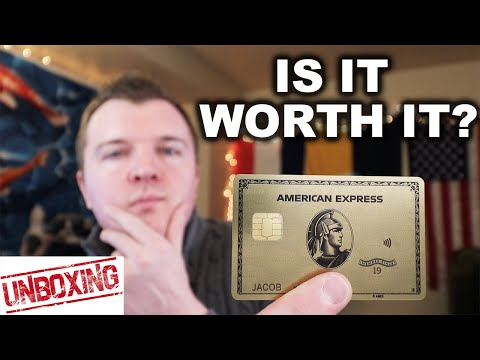 AmEx Gold Card Unboxing + Review -- Worth $250?