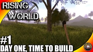 rising World Let's Play EP01 - Our First Steps - Rising World Gameplay S01EP01