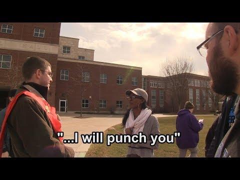 Speechless Pro-Aborts at Bloomsburg U