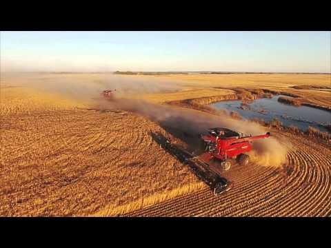 Horvath Seeding and Harvest 2015 - Raymore, Saskatchewan