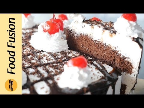 Black Forest Cake Recipe by Food Fusion