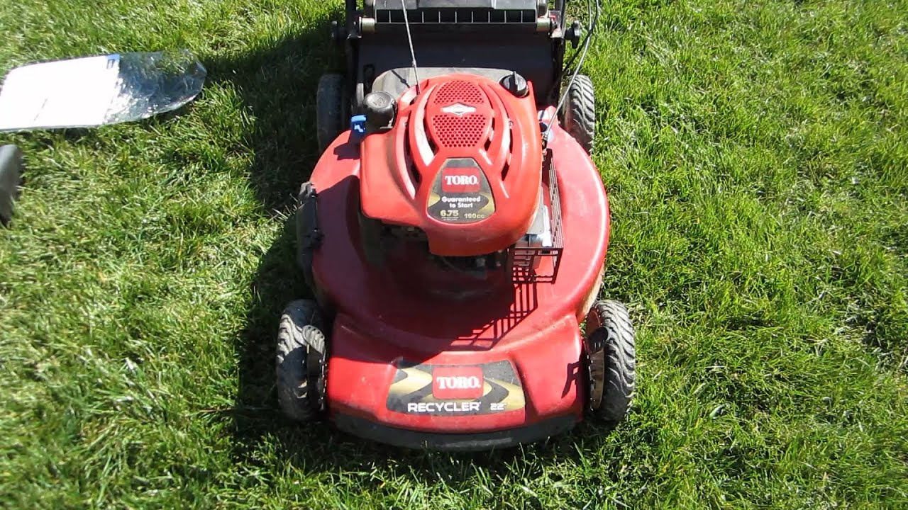toro 22 inch recycler personal pace lawn mower model 20332 rh youtube com toro personal pace mower parts 20017 toro personal pace mower parts diagram