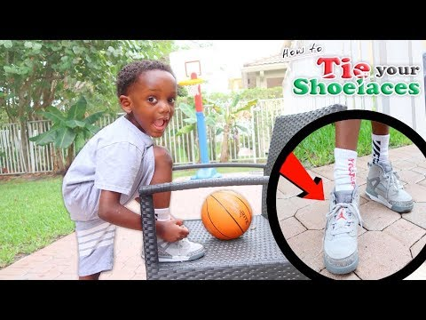Learn To Tie Your Shoe |Fun Learning Video For Kids|