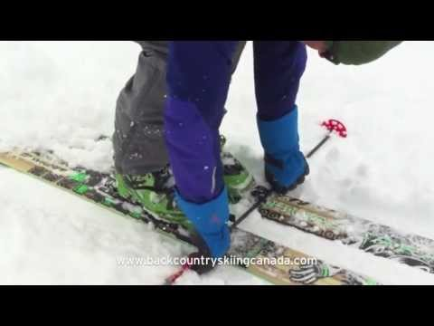 Backcountry skiing tip - Locking your Dynafit tech bindings