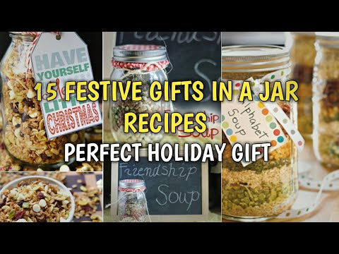 15 Festive Gifts In A Jar Recipes That Make The Perfect Holiday Gift