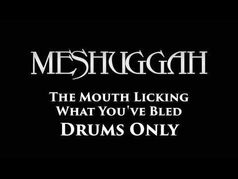Meshuggah The Mouth Licking What You've Bled DRUMS ONLY