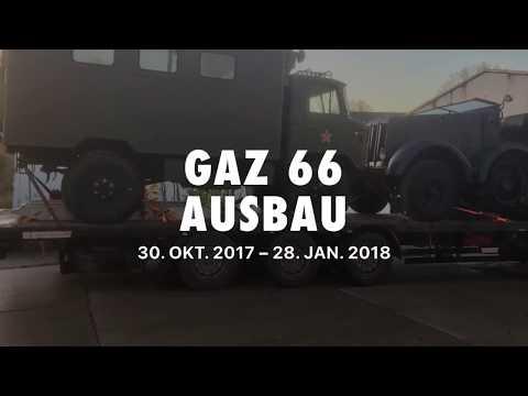 GAZ 66 vom Ausbau als Expeditionsmobil und der geplanten Tour durch Russland in die Mongolei