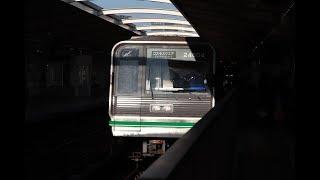 大阪メトロ中央線 九条駅の電車発着の様子撮影まとめ X9