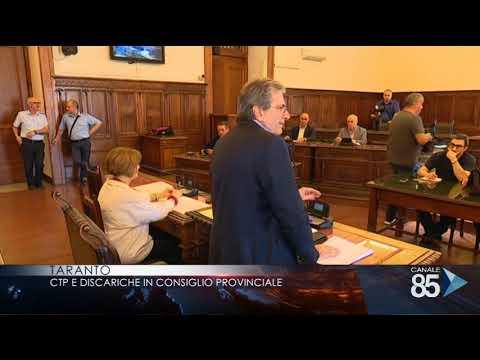 01 giugno   Taranto   CTP e discariche in consiglio provinciale