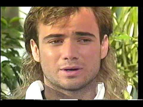 1992 Andre Agassi Attack Hot Lessons!