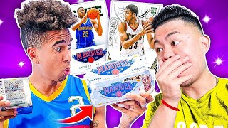 Insane NBA IRL Pack Opening! w/ Kenny Chao *AD & KAWHI ROOKIE PULLS*