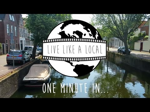 One minute in Alkmaar - The Netherlands