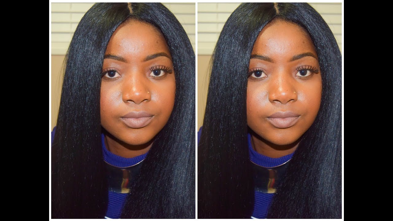 Luxury long straight sew in hairstyles hairstyle ideas kinky straight hair under 20 jeuxipadfo Images