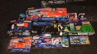 HUGE CHRISTMAS NERF HAUL! (Nerf Shopping)