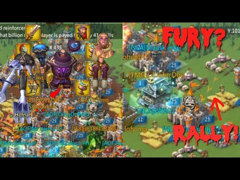 Lords Mobile 3 11k Heroes Rally Defense + My Trap Got Rallied In Fury?