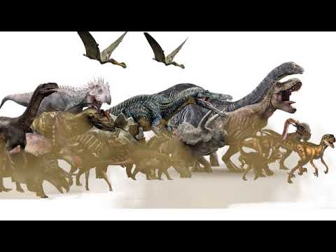 Dinosaur Stampede Sounds Youtube