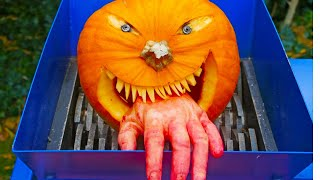 Video SHREDDING HALLOWEEN PUMPKIN download MP3, 3GP, MP4, WEBM, AVI, FLV Januari 2018