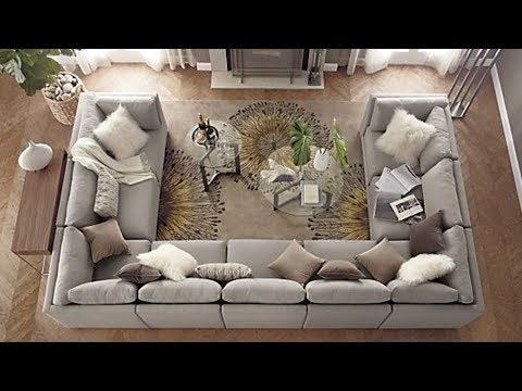 U Shaped Sofa Sectional YouTube